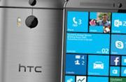 Windows-uitvoering HTC One M8 in de VS
